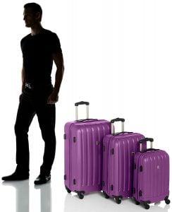 Set di valigie Benetton dimensioni