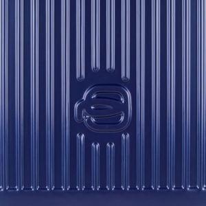 Trolley Piquadro Blu logo