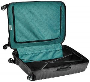 Trolley Samsonite Lite-shock aperta